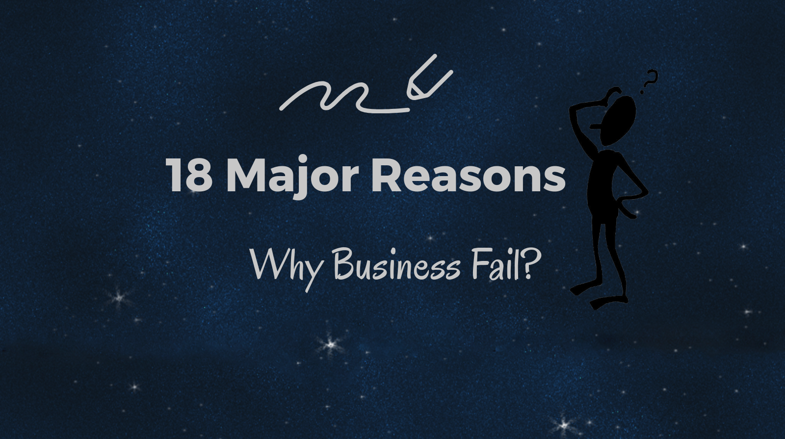 three major reasons a business fails Of the 10 reasons listed  owners are the very reason their company eventually fails  going out of business without paying for a major shipment.
