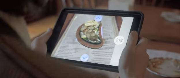KabaQ: تطبيق القائمة بتقنية الواقع المعزز