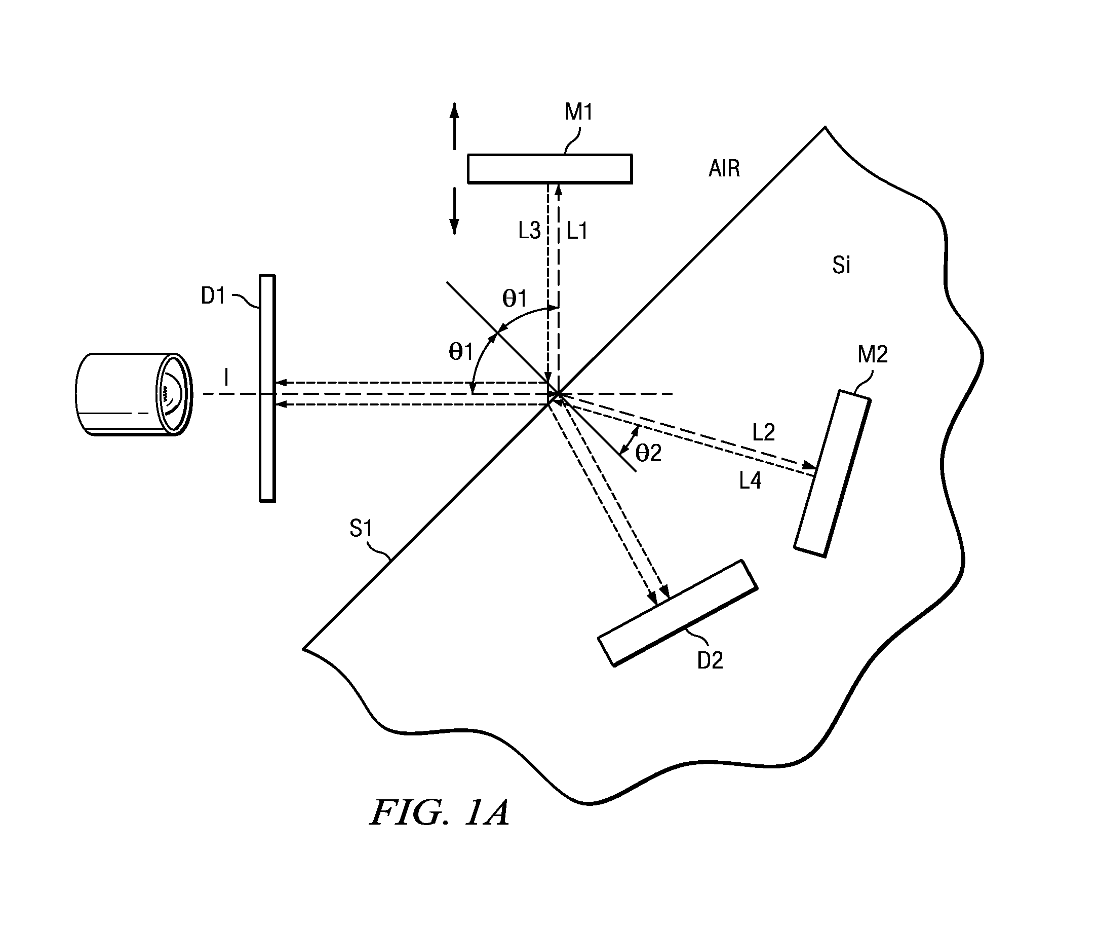 System, Method and Apparatus for a Micromachined Interferometer Using Optical Splitting