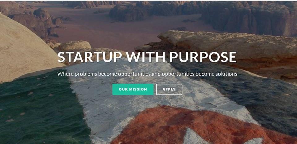 تقدم Startup With Purpose أول معسكر تدريبي للشباب من رواد الأعمال العرب في الأردن
