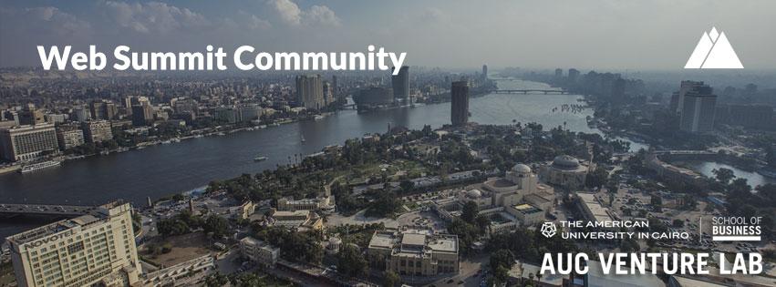 تستضيف الجامعة الأمريكية بالقاهرة حدث Web Summit Community Speed Mentoring