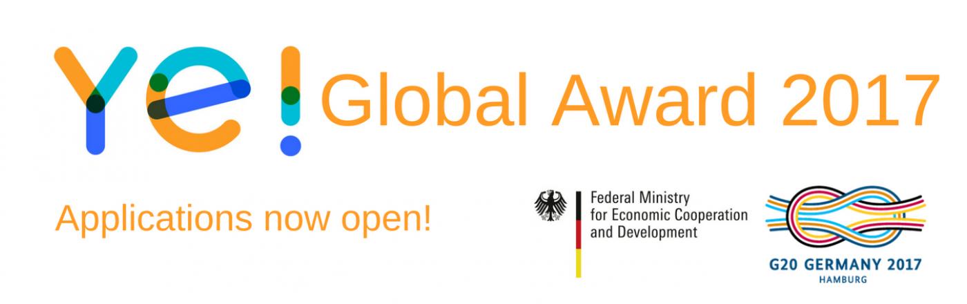 فتح باب التقديم لجائزة Ye العالمية ٢٠١٧