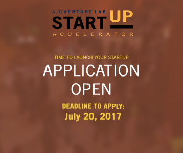 AUC Venture Lab Opens Applications for Their 9th Accelerator Cycle