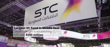 أسست شركة الاتصالات السعودية صندوق رأس المال المخاطر التقني STV بحجم استثمارات ٥٠٠ مليون دولار أمريكي