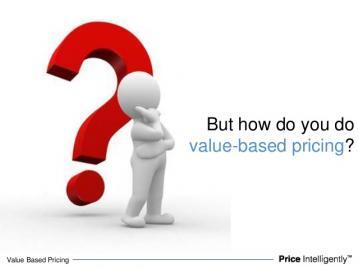دليلك للتسعير المبني على القيمة
