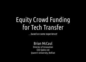 Equity Crowd Fundin...