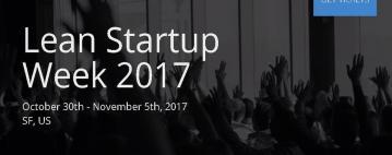 أسبوع Lean Startup ٢٠١٧