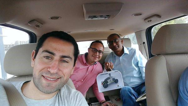 يعود من جديد في القاهرة والأسكندرية  UberPitchMe#