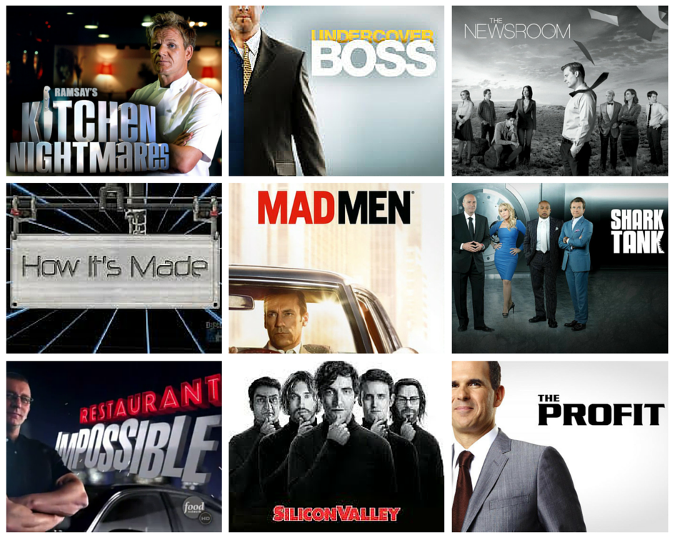 10 TV Shows Every Entrepreneur Should Watch