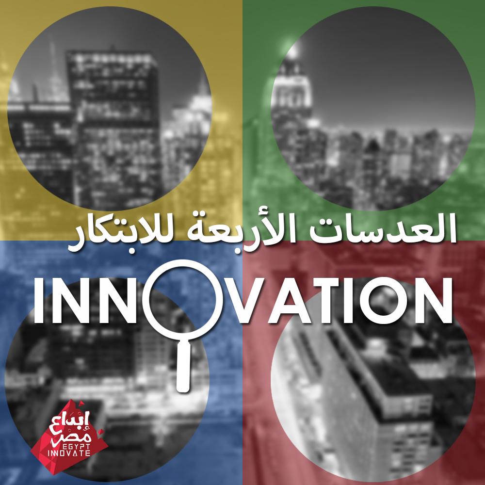 العدسات الأربعة للابتكار