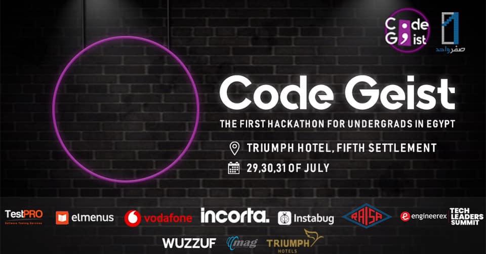 Code Geist Hackathon by SefrWahed