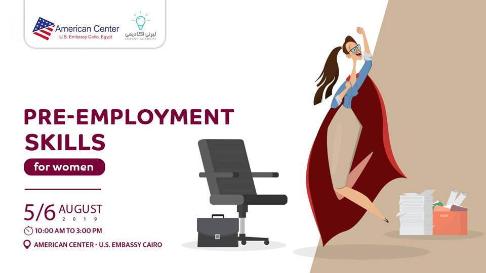 Pre-Employment Skills for Women at U.S Embassy