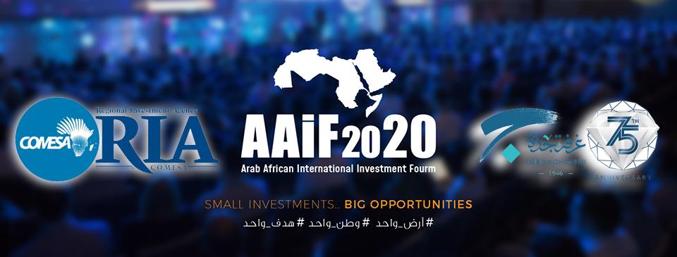Arab African International Investment Forum