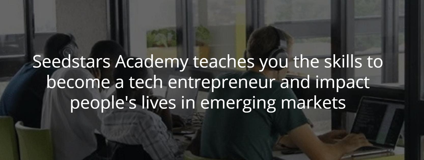 Seedstars Academy For Entrepreneurs Opens in Egypt