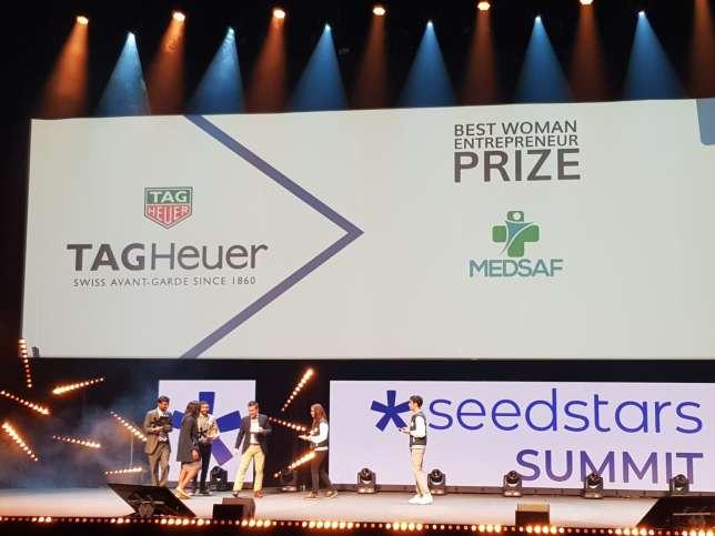شركة أجروسنتا تفوز بجائزة قيمتها  500,000 دولار في مسابقة سيدستارز