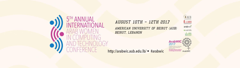 ArabWIC 5th Annual Conference 2017