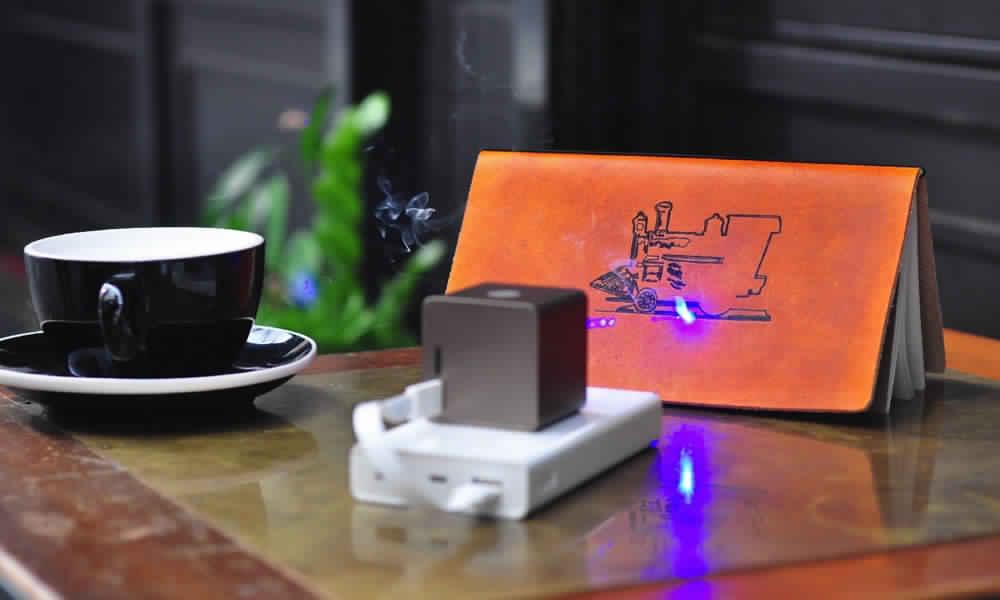Cubiio: The portable Engraver