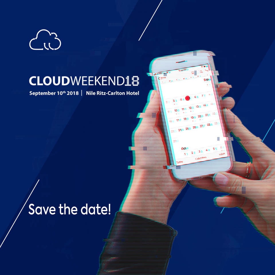 كلاود ويكند - Cloud Weekend 2018