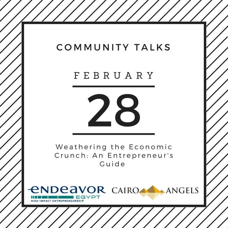 COMMUNITY TALKS - Weathering the Economic Crunch: An Entrepreneur's Guide