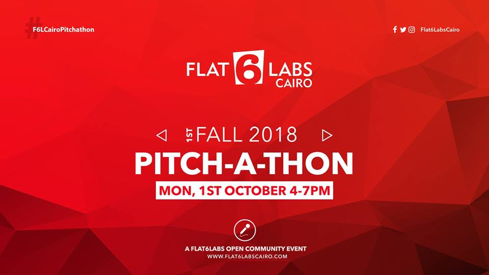 Flat6Labs Cairo Pitch-a-thon