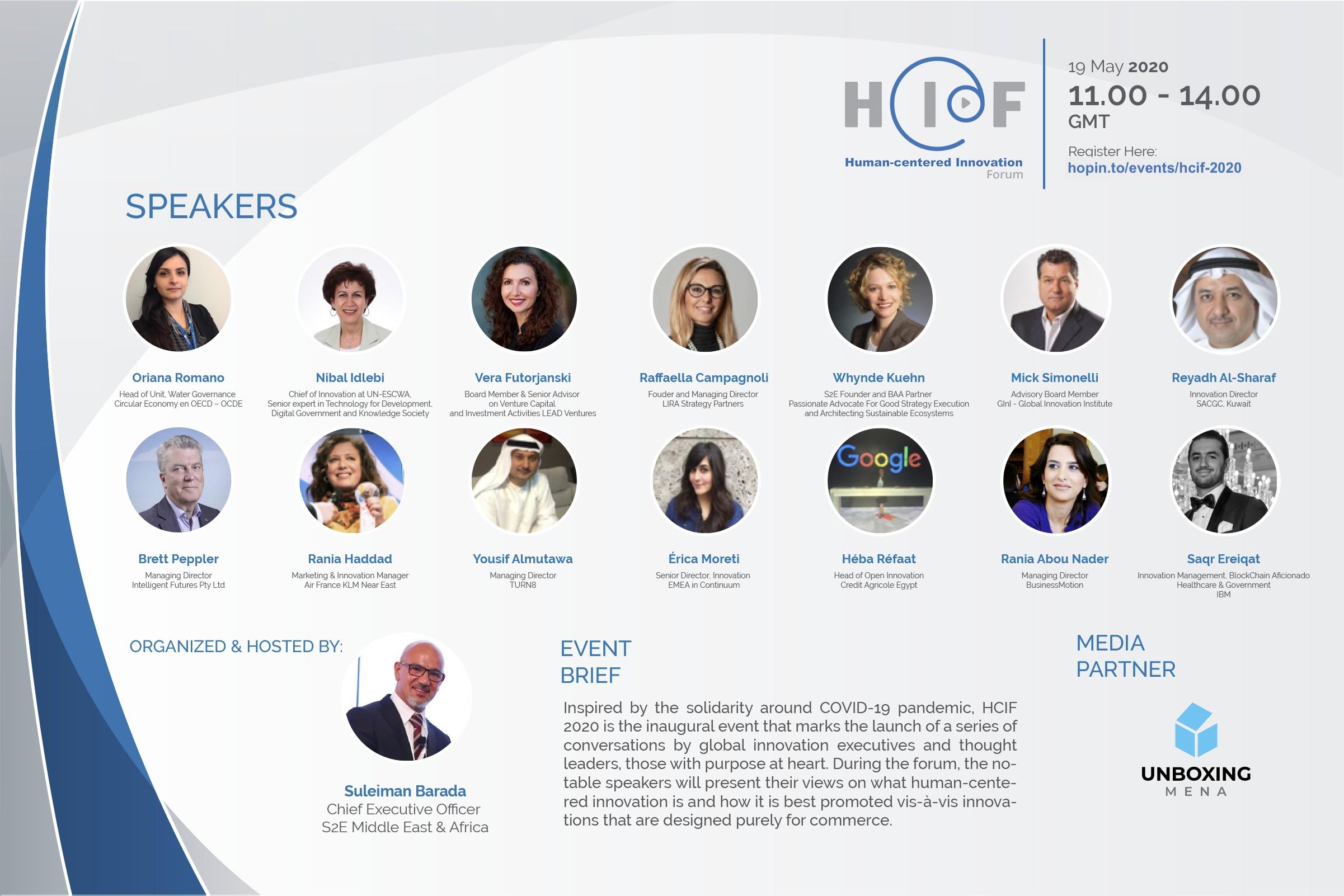 Human-centered Innovation Forum 2020