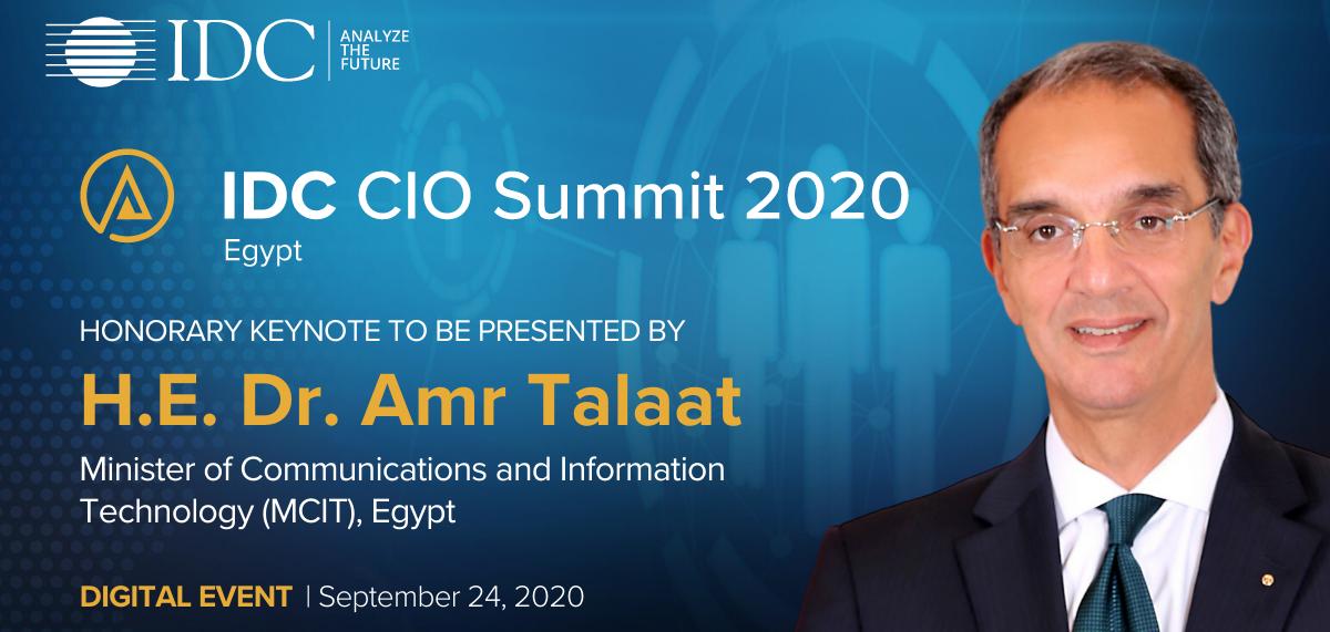IDC Egypt CIO Summit 2020: Connecting Leaders to Empower Digital Transformation