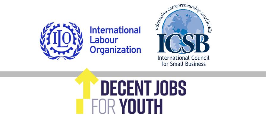 مناقشة من منظمة العمل الدولية و ICSB حول كيفية دعم الشباب و رواد الأعمال في أسواق العمل التي تضررت من جائحة فيروس كورونا