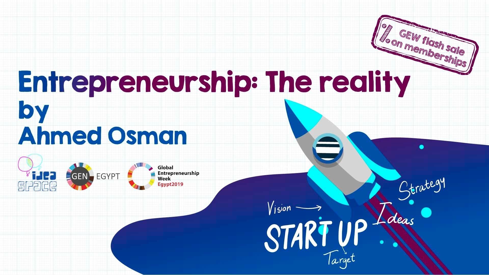 Entrepreneurship: The Reality