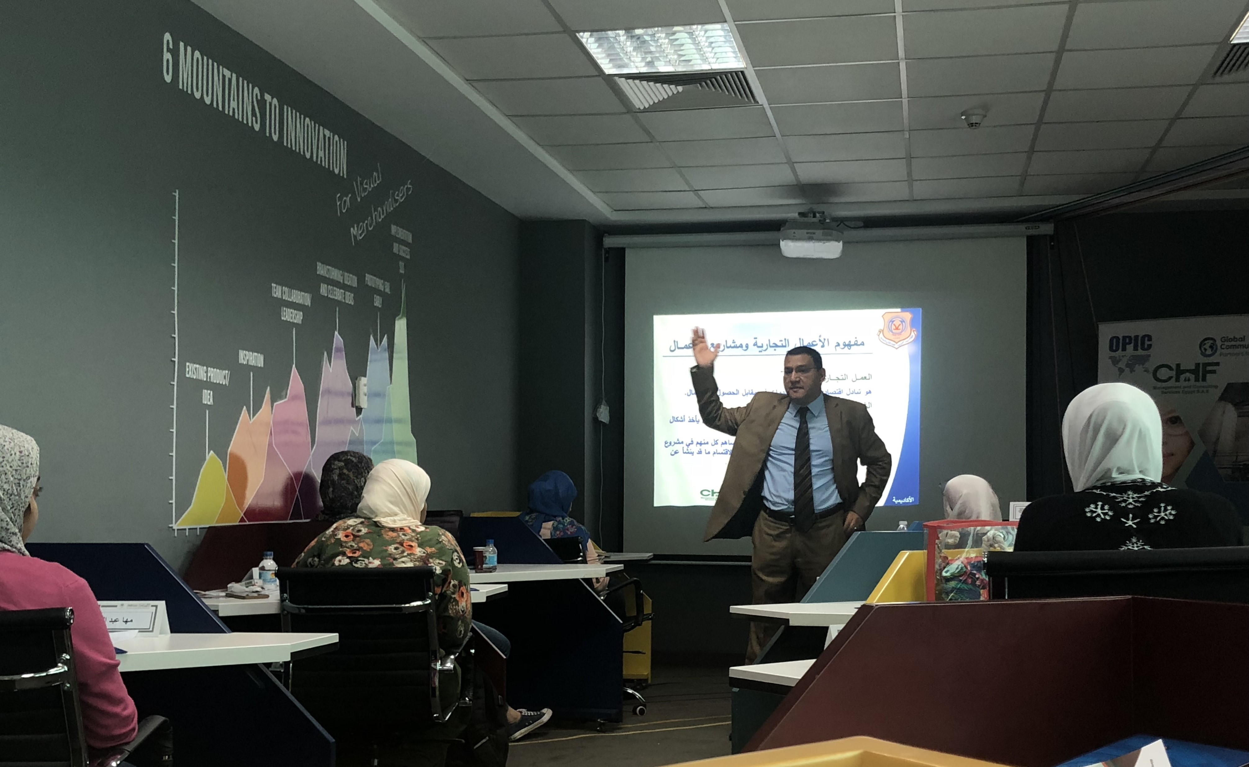 'Heya Raeda' Graduates attend Financial Literacy Workshop