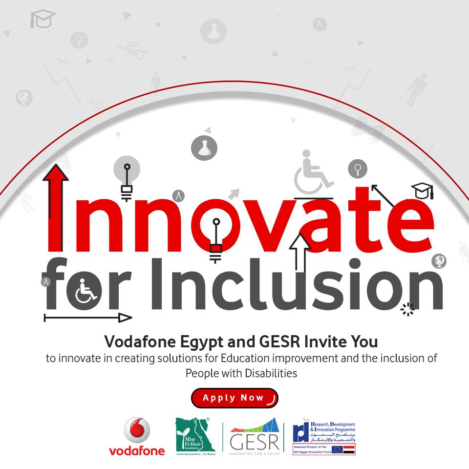 Innovate for Inclusion challenge by Vodafone and GESR