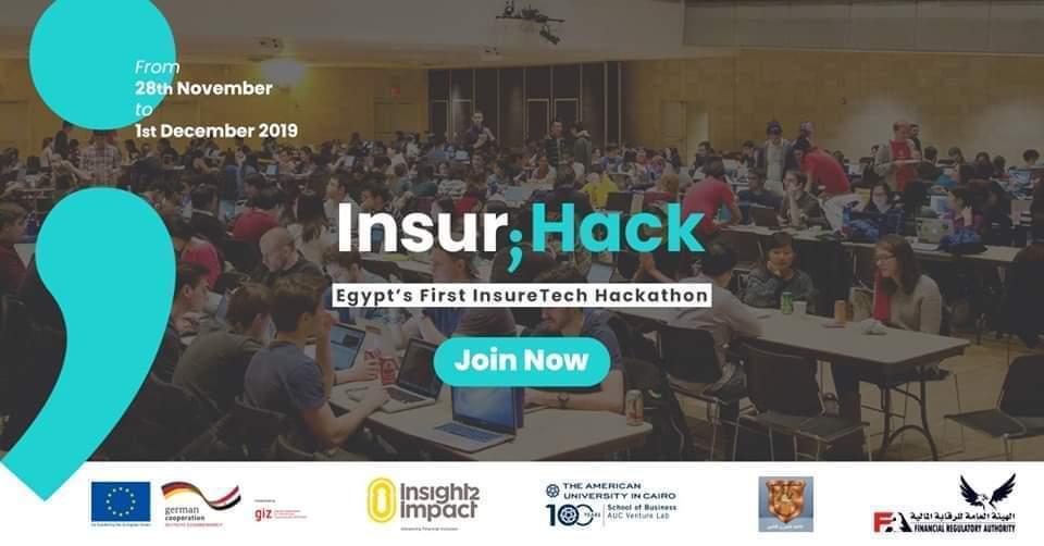 Insur;Hack | أول هاكاثون لتكنولوجيا التأمين في مصر