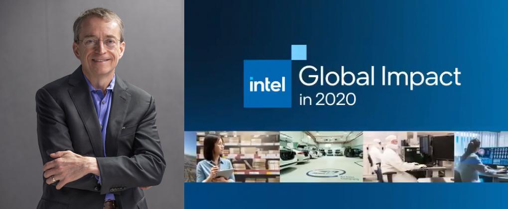 Intel CEO Pat Gelsinger introduce Intel's 2020-2021 Corporate Responsibility Report