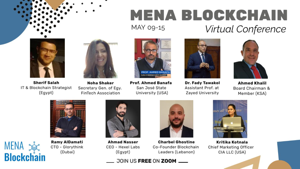 Only 1 Day to Register for MENA Blockchain Virtual conference