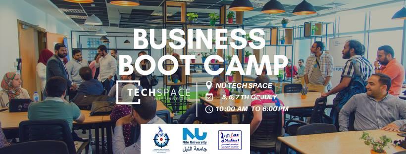 معسكر إدارة الأعمال بـNU TechSpace