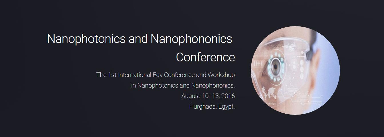 Nanophotonics and Nanophononics Conference