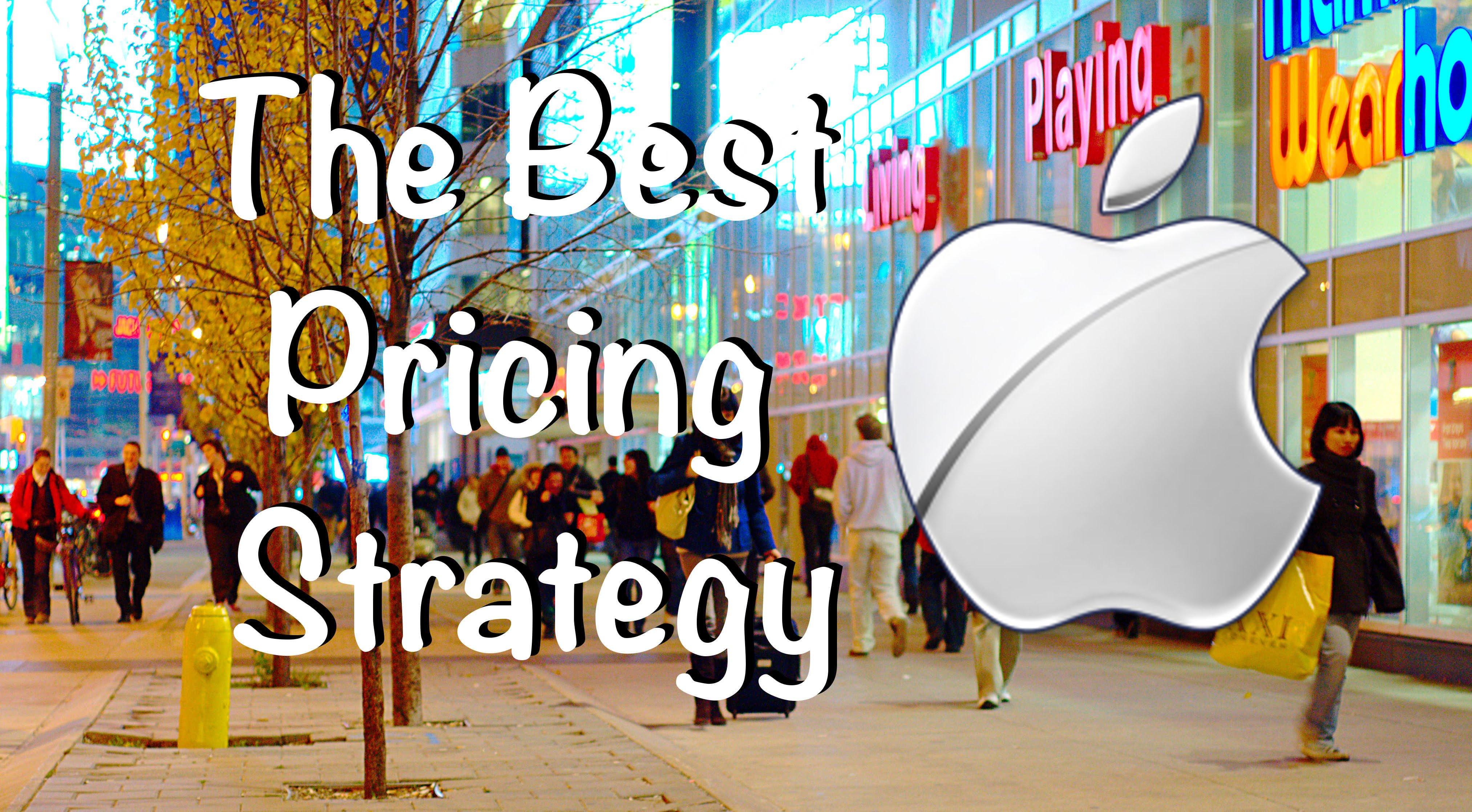 أفضل إستراتيجية للتسعير – على طريقة آبل