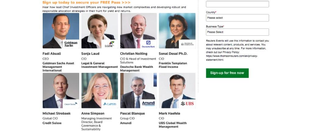 فعاليات رويترز: خبراء الاستثمار في العالم وأبرز توقعات عام 2022