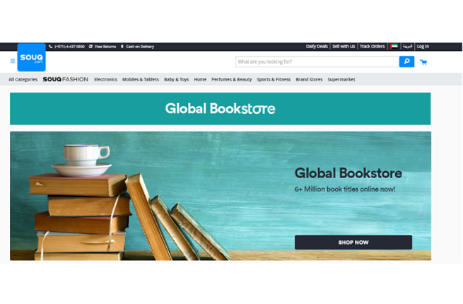 SOUQ.com Launches its Latest Category 'Global Bookstore'