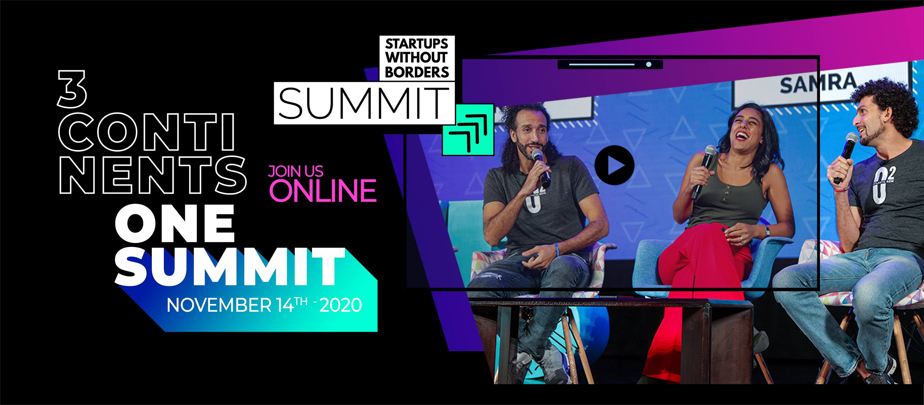 Startups Without Borders Summit 2020