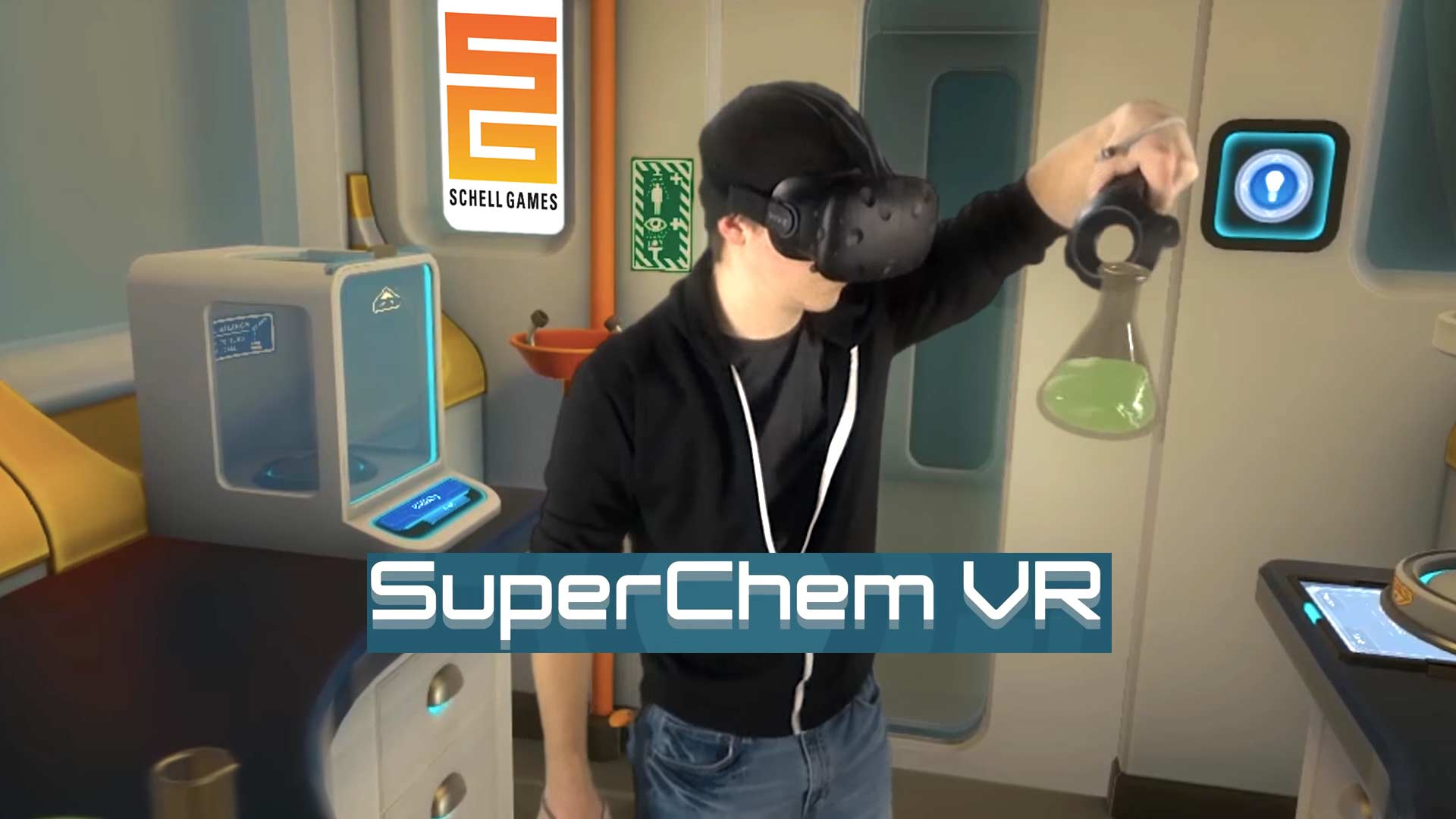 SuperChem VR: Outer Space Chemistry Lab
