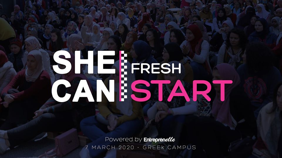 SHE CAN 2020 Event #FreshStart