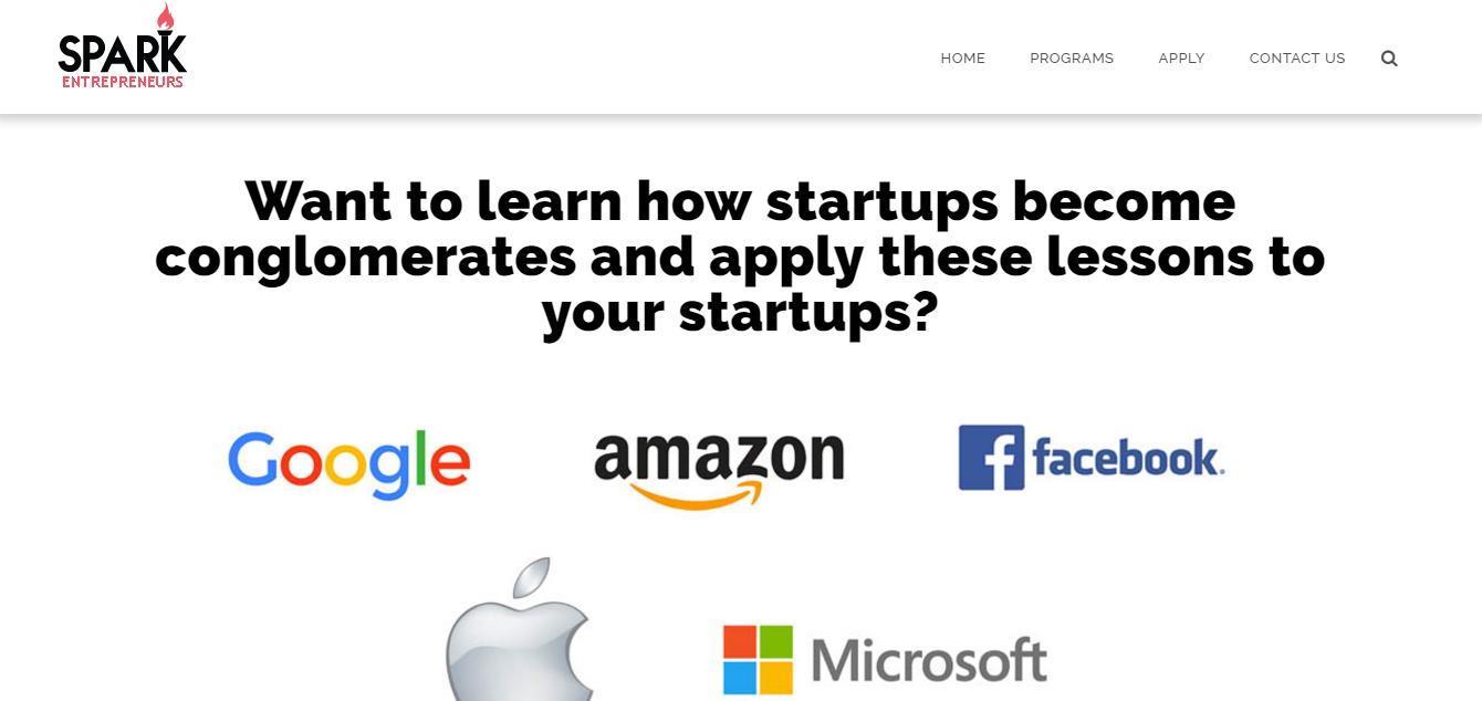 SPARK Entrepreneurs 2016