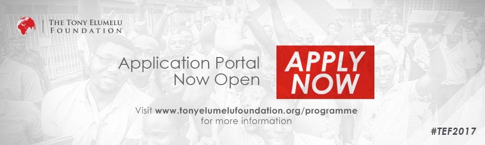 Tony Elumelu Entrepreneurship Program's new cycle is now open