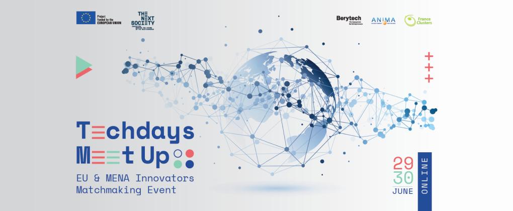 Techdays Meet Up: first virtual matchmaking event for EU & MENA innovators