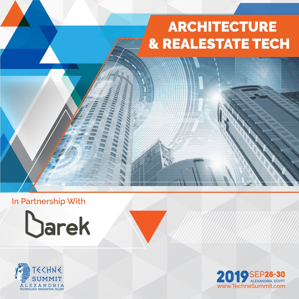 Barek is running a Real Estate Track for the first time at Techne Summit 2019