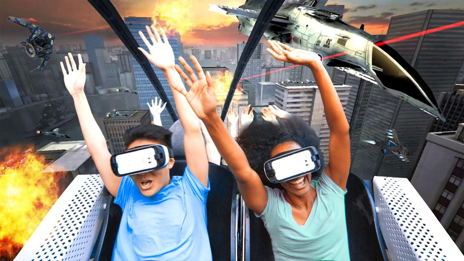 ملاهي الواقع الإفتراضي
