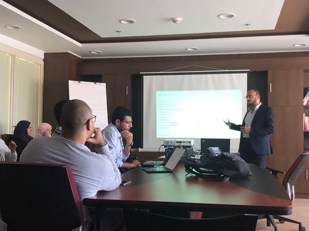 كوداكو  تعقد ملتقى عن البلوكتشين لموظفي النظم وإدارة المعلومات في بنك مصر