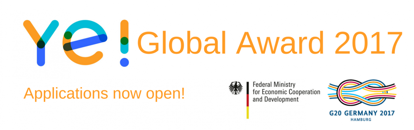 Ye! Global Awards 2017 Open For Application!