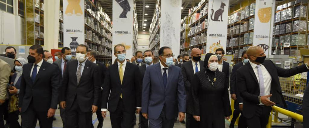 With +1 Billion Investments… Amazon opened its 1st warehouse in 10th of Ramadan city