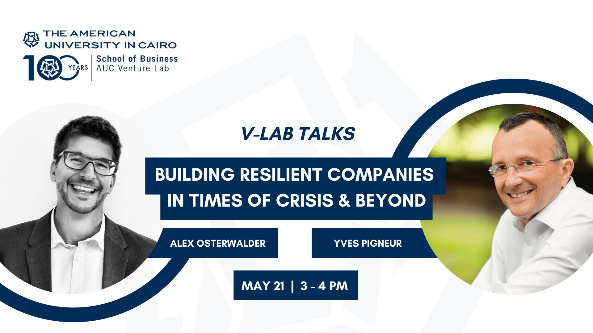 V-Lab Talks: Building Resilient Companies in Crisis & Beyond